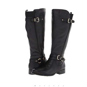 Naturalizer Black Juletta Boot sz 5M